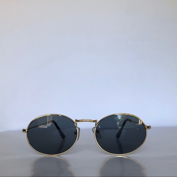 7d2c9ab9df3 Round Frame Vintage Oval 90s Unisex Sunglasses